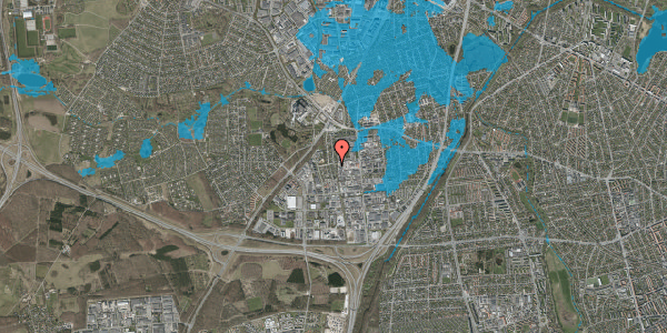 Oversvømmelsesrisiko fra vandløb på Ydergrænsen 32B, 2600 Glostrup