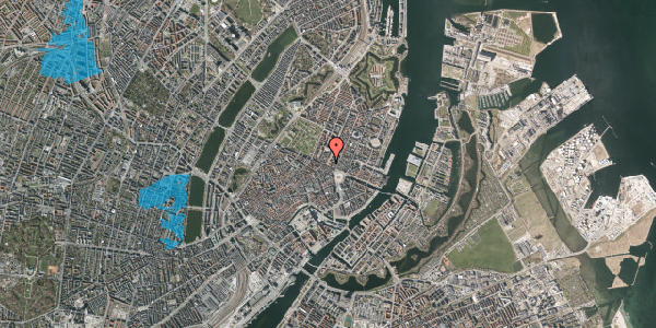 Oversvømmelsesrisiko fra vandløb på Gothersgade 14, 5. tv, 1123 København K
