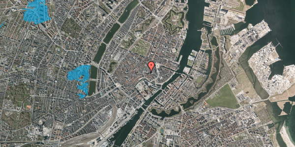 Oversvømmelsesrisiko fra vandløb på Nikolaj Plads 10, 3. , 1067 København K