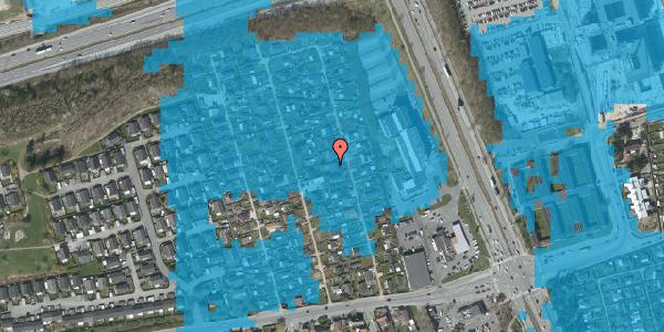 Oversvømmelsesrisiko fra vandløb på Hf. Kettehøj 97, 2650 Hvidovre
