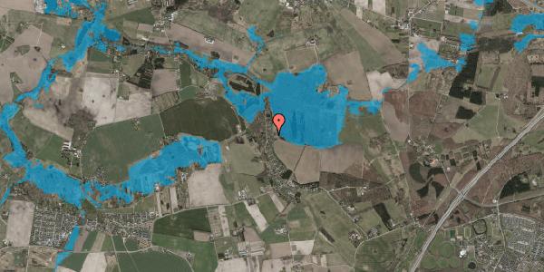 Oversvømmelsesrisiko fra vandløb på Solager 72, 2630 Taastrup
