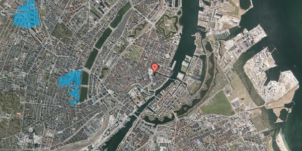 Oversvømmelsesrisiko fra vandløb på Kongens Nytorv 9, 2. , 1050 København K