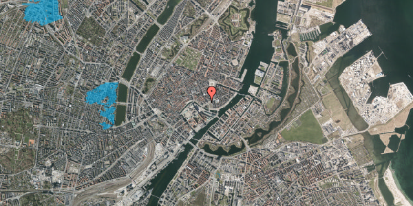 Oversvømmelsesrisiko fra vandløb på Holmens Kanal 20, 3. , 1060 København K