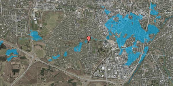 Oversvømmelsesrisiko fra vandløb på Vængedalen 923, 2600 Glostrup