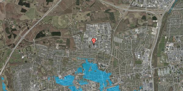 Oversvømmelsesrisiko fra vandløb på Naverland 11A, 2600 Glostrup