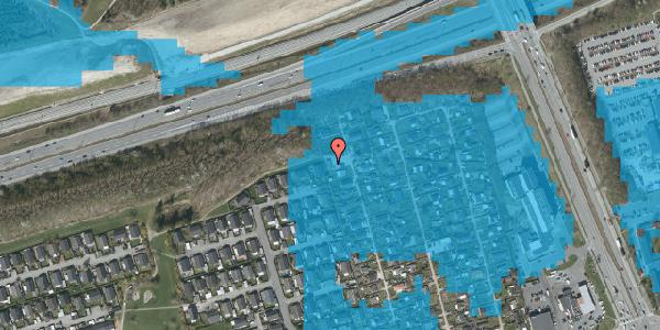Oversvømmelsesrisiko fra vandløb på Hf. Kettehøj 28, 2650 Hvidovre