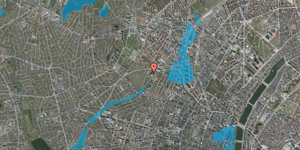 Oversvømmelsesrisiko fra vandløb på Jordbærvej 159, 1. , 2400 København NV