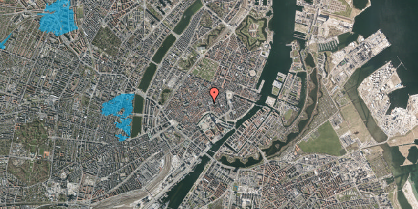 Oversvømmelsesrisiko fra vandløb på Købmagergade 2, 5. , 1150 København K