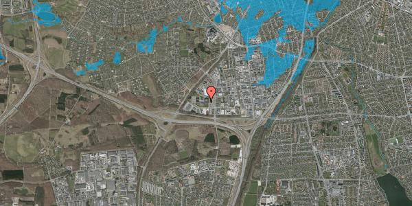 Oversvømmelsesrisiko fra vandløb på Ejby Industrivej 33, 2600 Glostrup