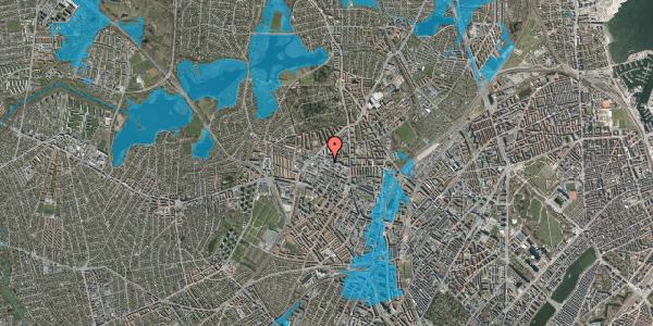 Oversvømmelsesrisiko fra vandløb på Birkedommervej 31, 2. , 2400 København NV