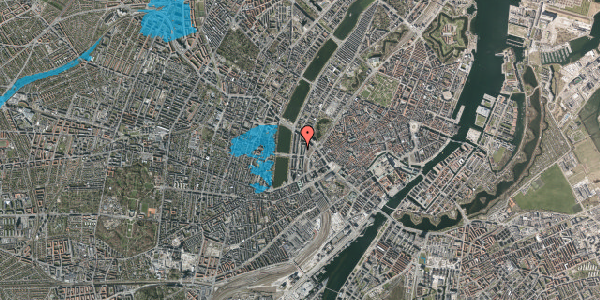 Oversvømmelsesrisiko fra vandløb på Nyropsgade 21, 2. , 1602 København V