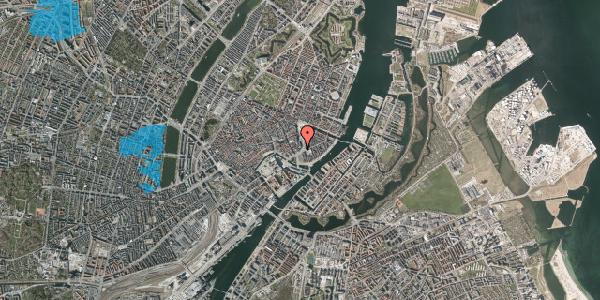 Oversvømmelsesrisiko fra vandløb på Holmens Kanal 12, st. , 1060 København K
