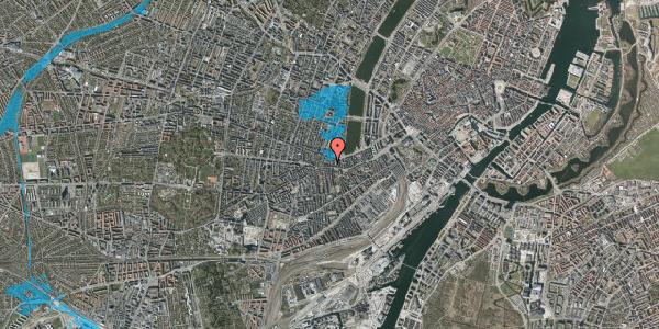 Oversvømmelsesrisiko fra vandløb på Vesterbrogade 66, st. , 1620 København V
