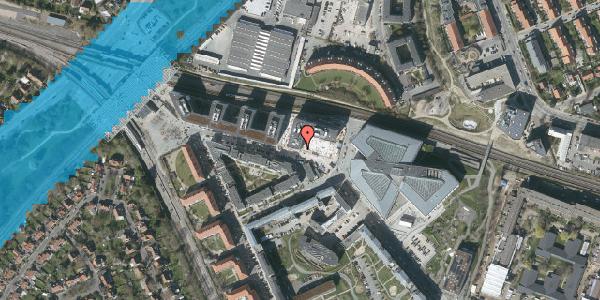 Oversvømmelsesrisiko fra vandløb på Dirch Passers Allé 56, 2000 Frederiksberg