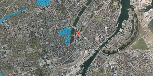 Oversvømmelsesrisiko fra vandløb på Nyropsgade 41B, 5. , 1602 København V