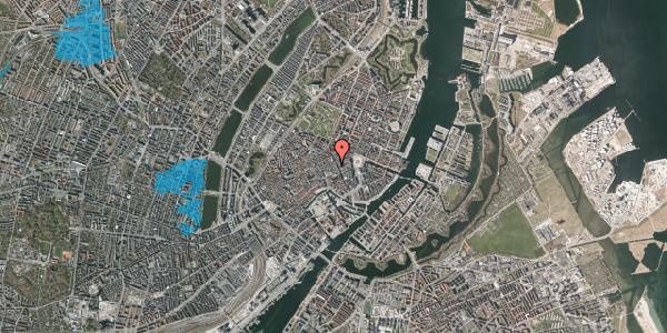 Oversvømmelsesrisiko fra vandløb på Pilestræde 12, 1112 København K