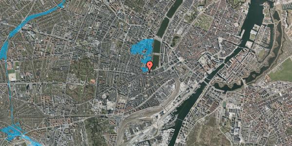 Oversvømmelsesrisiko fra vandløb på Vesterbrogade 62D, 2. tv, 1620 København V