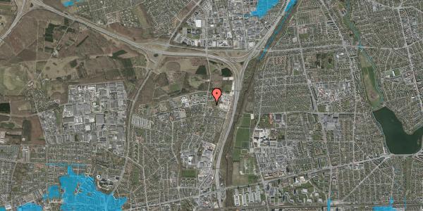 Oversvømmelsesrisiko fra vandløb på Bovneager 27, 2600 Glostrup