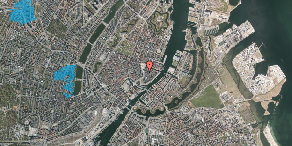 Oversvømmelsesrisiko fra vandløb på Tordenskjoldsgade 9, 4. th, 1055 København K