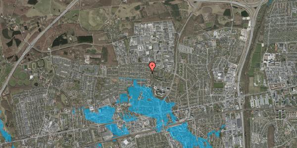 Oversvømmelsesrisiko fra vandløb på Haveforeningen Hersted 37, 2600 Glostrup