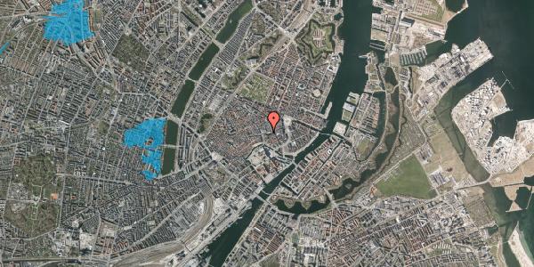Oversvømmelsesrisiko fra vandløb på Nikolaj Plads 18, 1067 København K