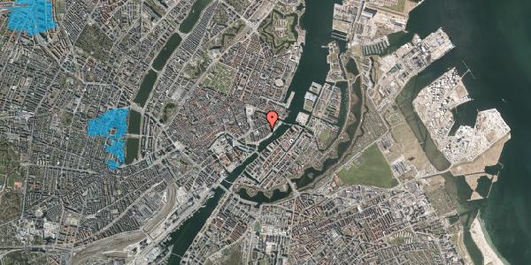 Oversvømmelsesrisiko fra vandløb på Peder Skrams Gade 19, 2. , 1054 København K