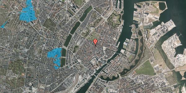 Oversvømmelsesrisiko fra vandløb på Pilestræde 53, 4. , 1112 København K