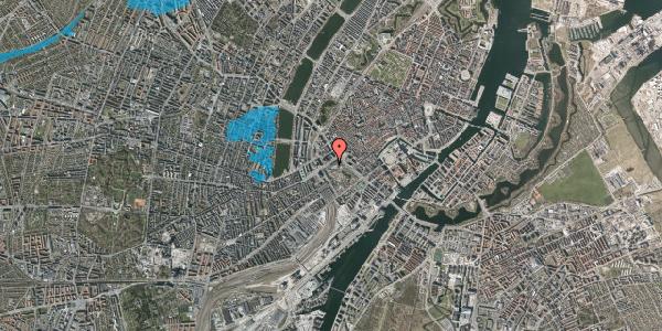 Oversvømmelsesrisiko fra vandløb på Vesterbrogade 1L, 5. th, 1620 København V
