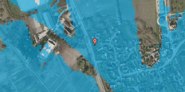 Oversvømmelsesrisiko fra vandløb på Vejlegårdsvej 116, 2625 Vallensbæk
