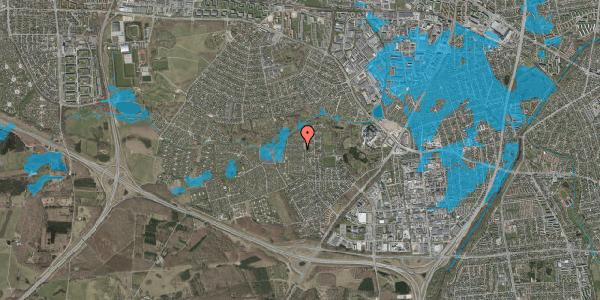 Oversvømmelsesrisiko fra vandløb på Vængedalen 607, 2600 Glostrup
