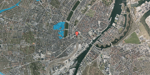 Oversvømmelsesrisiko fra vandløb på Bernstorffsgade 4, 4. , 1577 København V