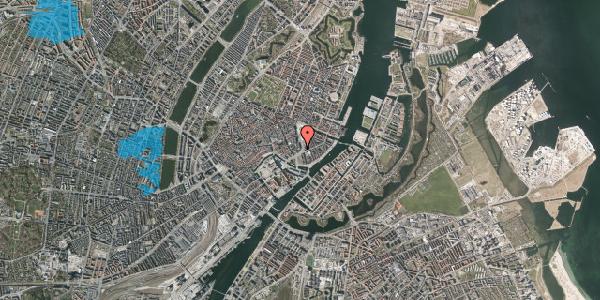 Oversvømmelsesrisiko fra vandløb på Holmens Kanal 10, st. , 1060 København K