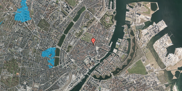 Oversvømmelsesrisiko fra vandløb på Ny Østergade 21, 1. , 1101 København K