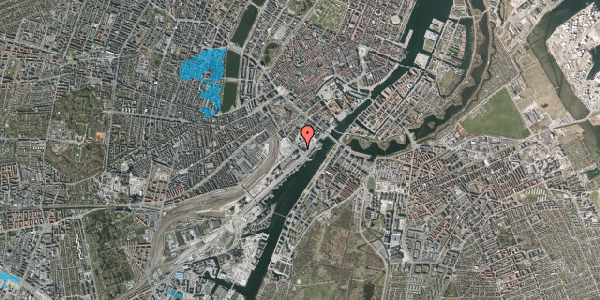 Oversvømmelsesrisiko fra vandløb på Bernstorffsgade 33, 6. , 1577 København V