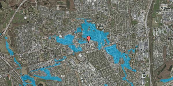 Oversvømmelsesrisiko fra vandløb på Hermods Allé 6, 2600 Glostrup