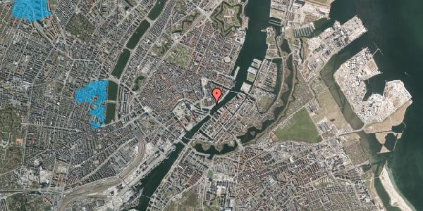 Oversvømmelsesrisiko fra vandløb på Havnegade 23, 1. , 1058 København K