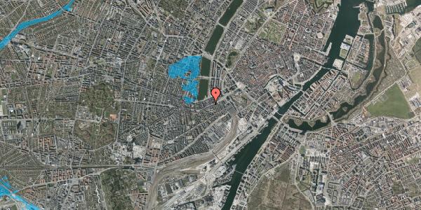 Oversvømmelsesrisiko fra vandløb på Vesterbrogade 18, 1. tv, 1620 København V