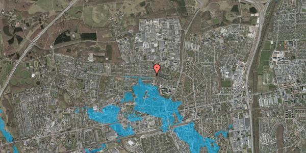 Oversvømmelsesrisiko fra vandløb på Haveforeningen Hersted 50, 2600 Glostrup