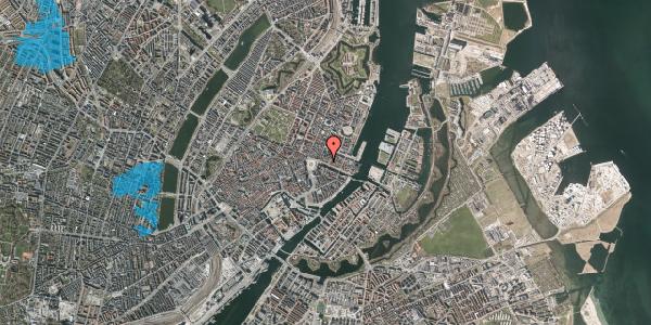 Oversvømmelsesrisiko fra vandløb på Nyhavn 11A, 2. , 1051 København K