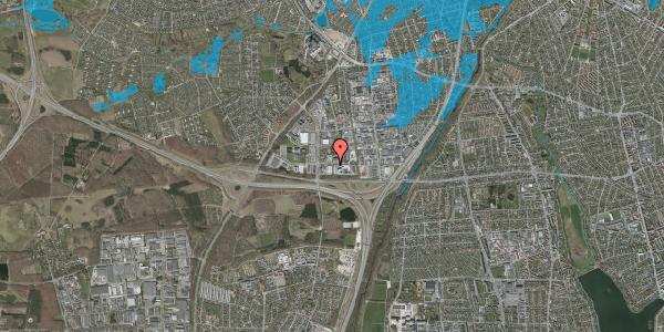 Oversvømmelsesrisiko fra vandløb på Ejby Industrivej 4, 2600 Glostrup