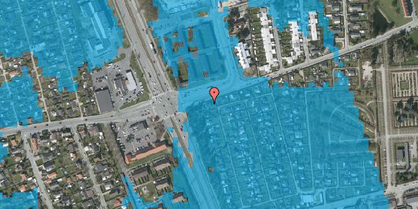 Oversvømmelsesrisiko fra vandløb på Hf. Svarø 41, 2650 Hvidovre