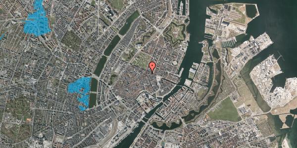 Oversvømmelsesrisiko fra vandløb på Ny Østergade 21, 4. , 1101 København K