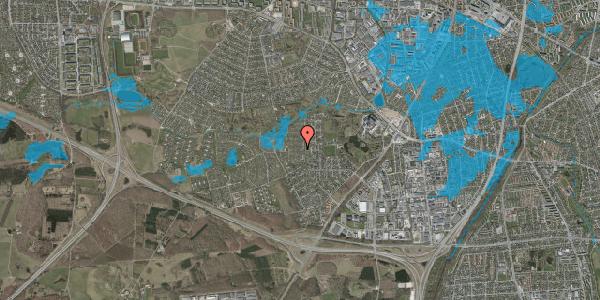 Oversvømmelsesrisiko fra vandløb på Vængedalen 409, 2600 Glostrup