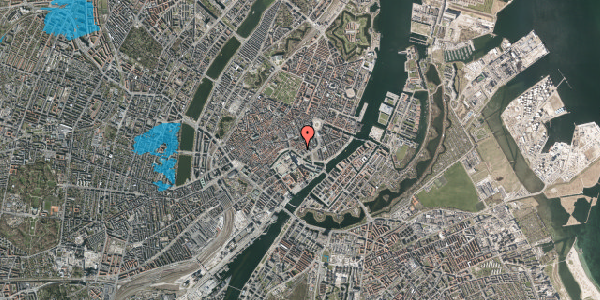 Oversvømmelsesrisiko fra vandløb på Admiralgade 26, 1066 København K