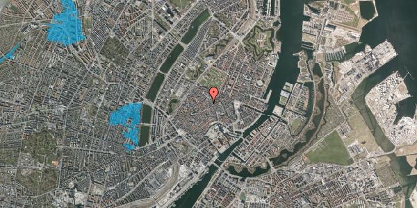 Oversvømmelsesrisiko fra vandløb på Købmagergade 44, st. , 1150 København K