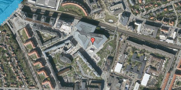 Oversvømmelsesrisiko fra vandløb på Marguerite Vibys Plads 7, st. , 2000 Frederiksberg