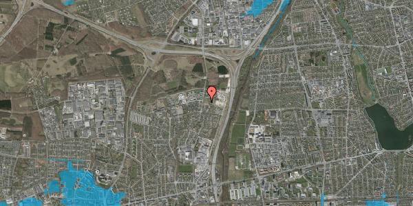 Oversvømmelsesrisiko fra vandløb på Bovneager 17, 2600 Glostrup