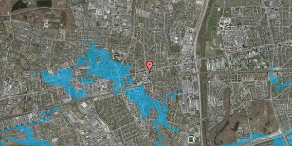 Oversvømmelsesrisiko fra vandløb på Glostrup Shoppingcenter 110, st. , 2600 Glostrup