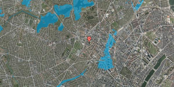 Oversvømmelsesrisiko fra vandløb på Gråspurvevej 17B, 2400 København NV