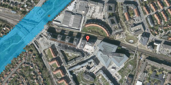 Oversvømmelsesrisiko fra vandløb på Dirch Passers Allé 36, 2000 Frederiksberg